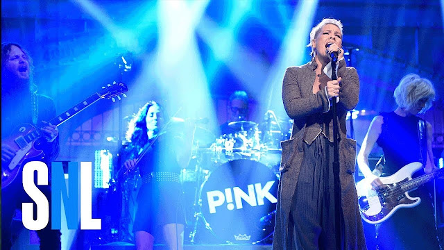 Watch P!nk's Performances of 'What About Us' & 'Beautiful Trauma' on SNL