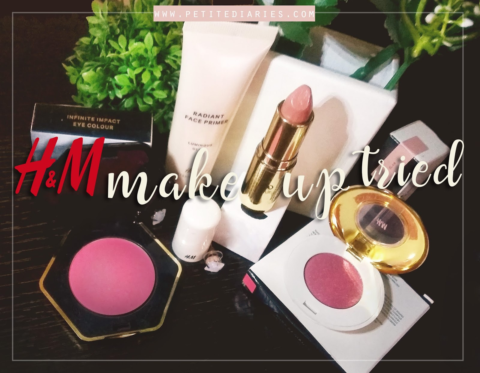 review H&M make up line