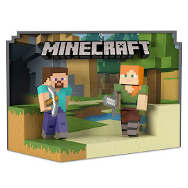 Minecraft Hallmark Alex and Steve? Other Figure