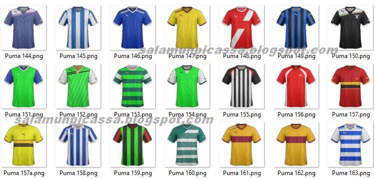 MockUp Jersey Futsal Puma