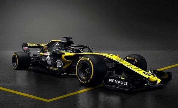 Renault RS18 Fórmula 1 2018
