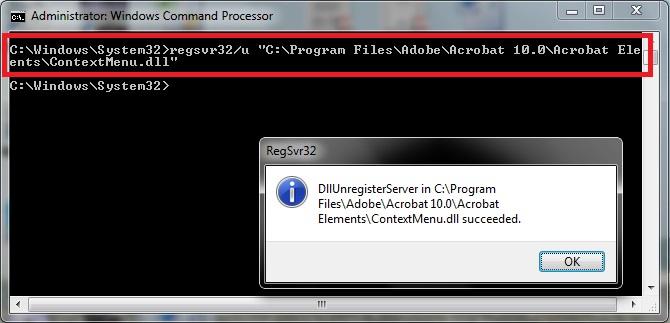 Unregister A DLL File