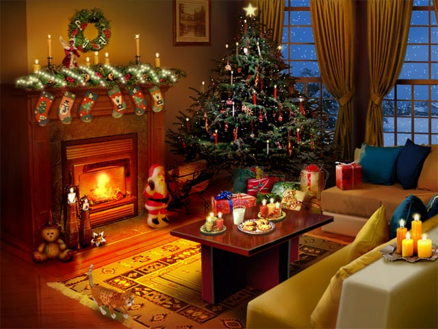 Christmas Scene Screensaver Wallpaper: Sacerdotus: Christmas Eve