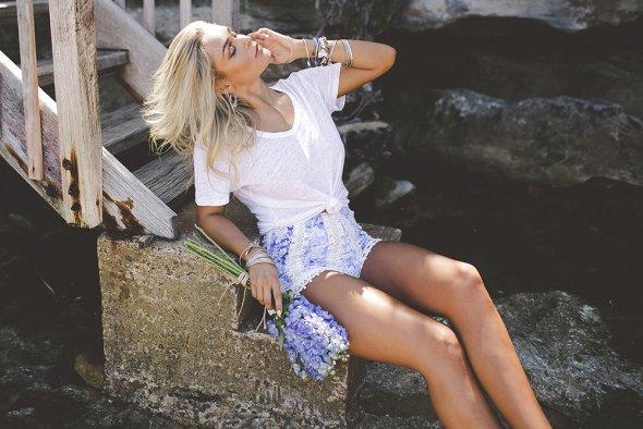 Julia Trotti arte fotografia fashion mulheres modelos Michaela Wain beleza sensualidade loira