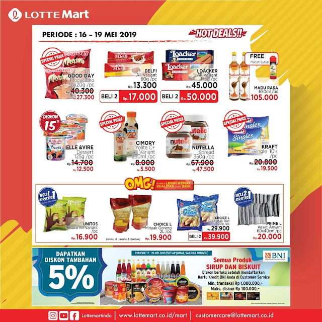 #LotteMart - #Promo #Katalog Weekend Periode 16 - 19 Mei 2019