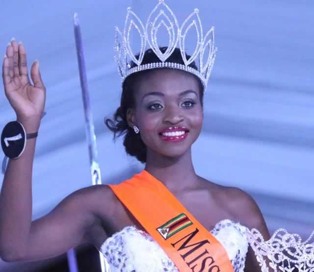 Miss World Zimbabwe Dethroned After Nude Photo Scandal - E