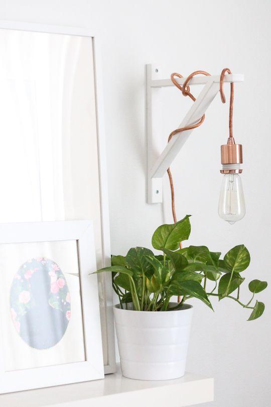 El uso de bombillas en decoración
