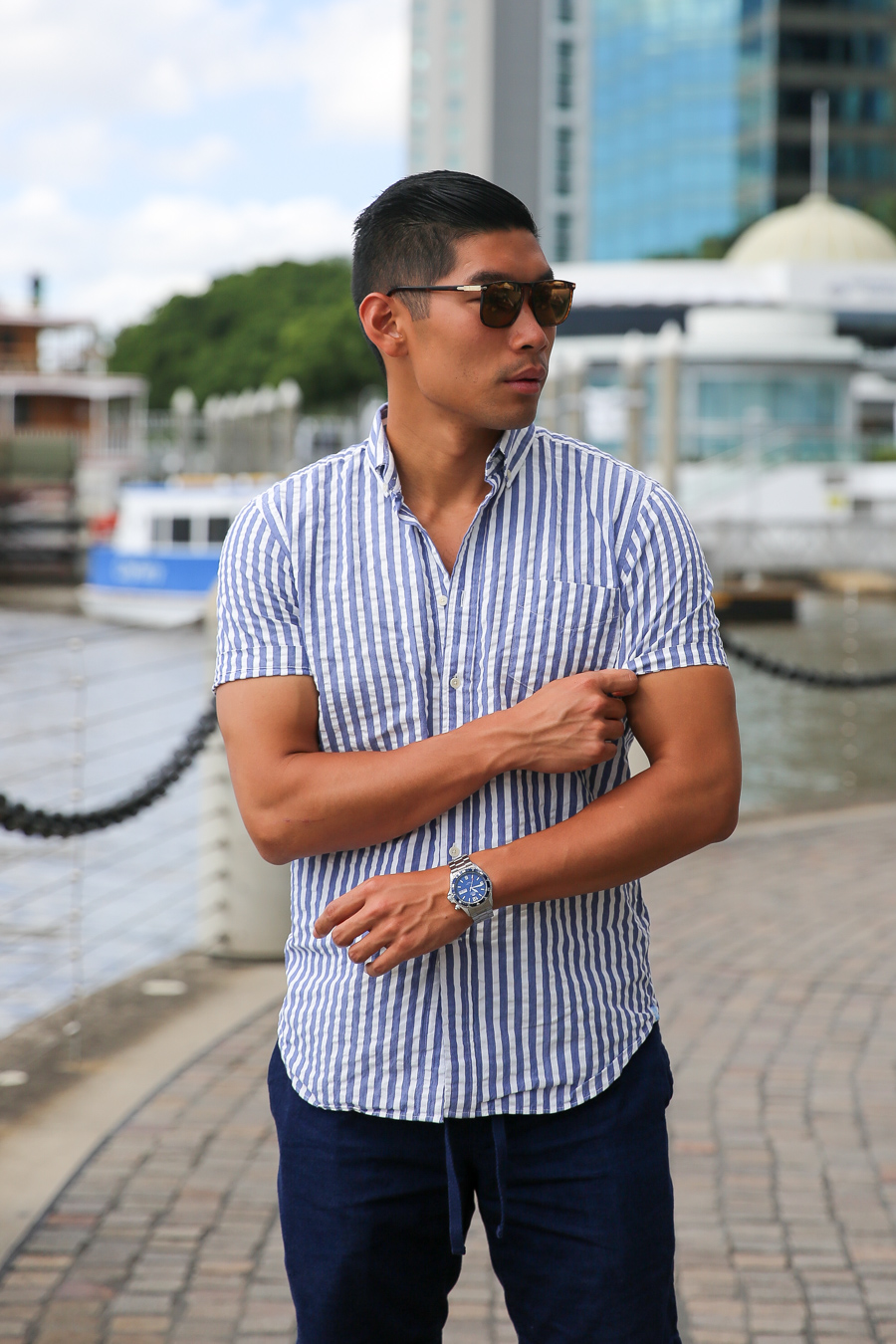 Brisbane, Clarks Jink, menswear, Levitate Style, Leo Chan, Alicia Mara