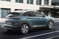Hyundai Kona Electric (2019) Rear Side