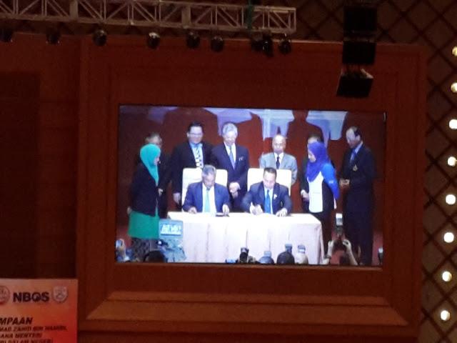 Majlis perjumpaan dengan Timbalan Perdana Menteri YAB Dato' Seri Dr. Ahmad Zahidi di PICC