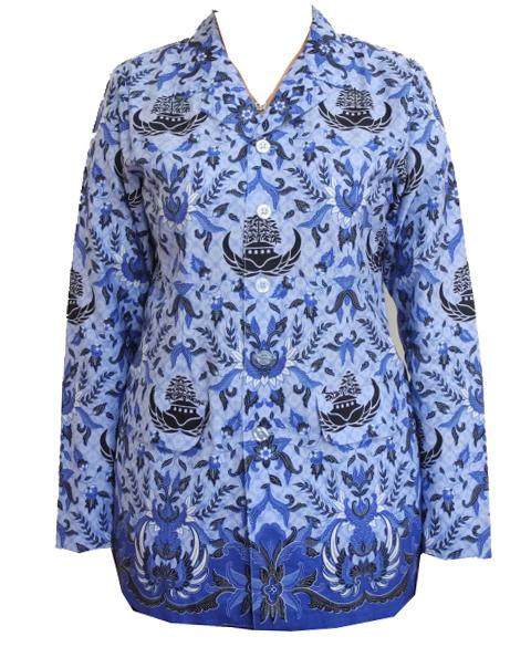 model baju batik untuk guru