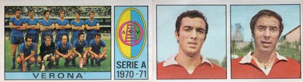 FIGURINA PANINI 1970//71 Rec BRIGNANI VARESE