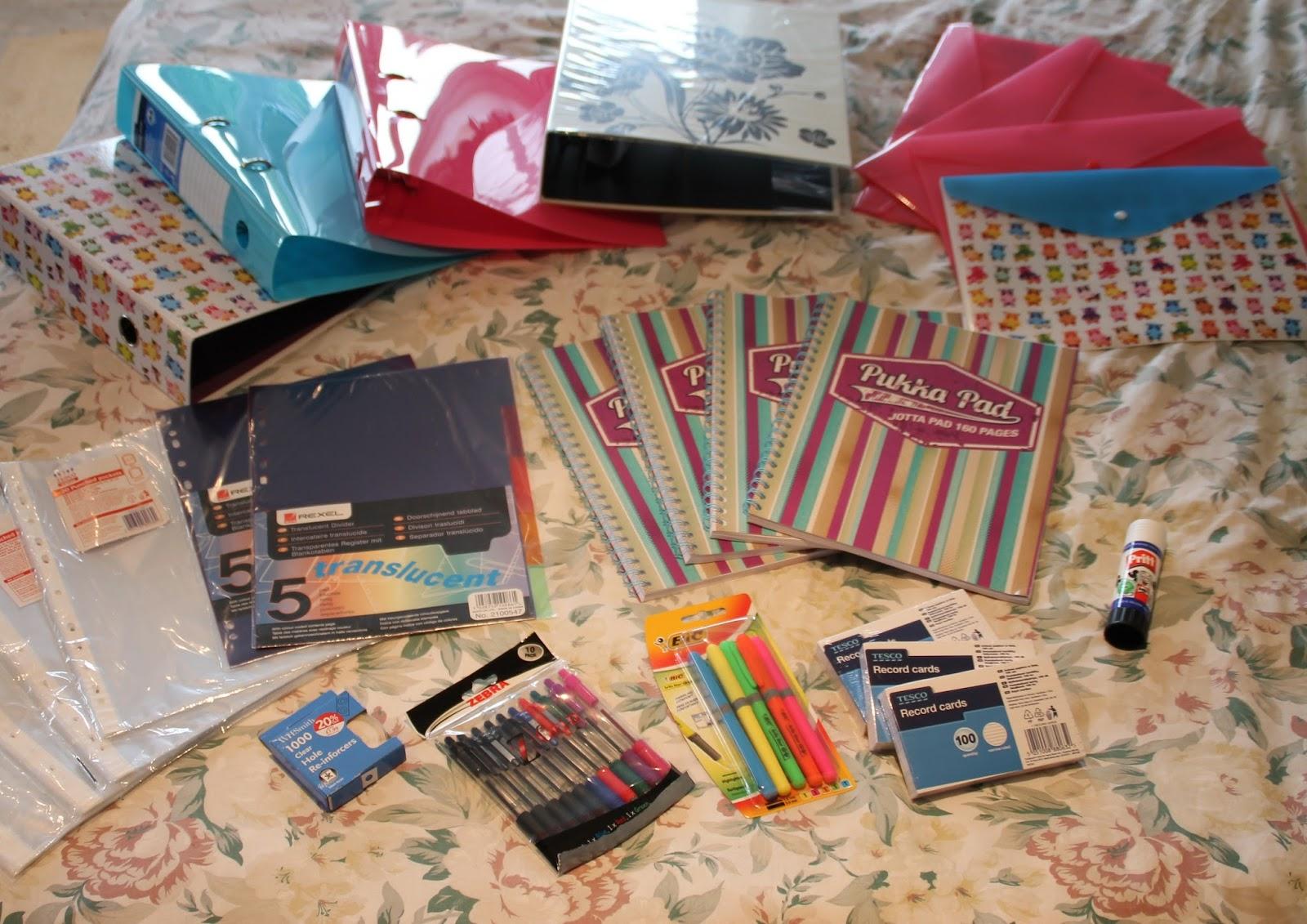 Back To School Series 1 Stationary School Supplies Haul