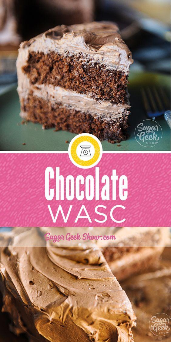 Chocolate WASC Cake (doctored chocolate cake mix)