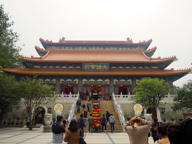 Po Lin Monastery, near Big Buddha, Hong Kong