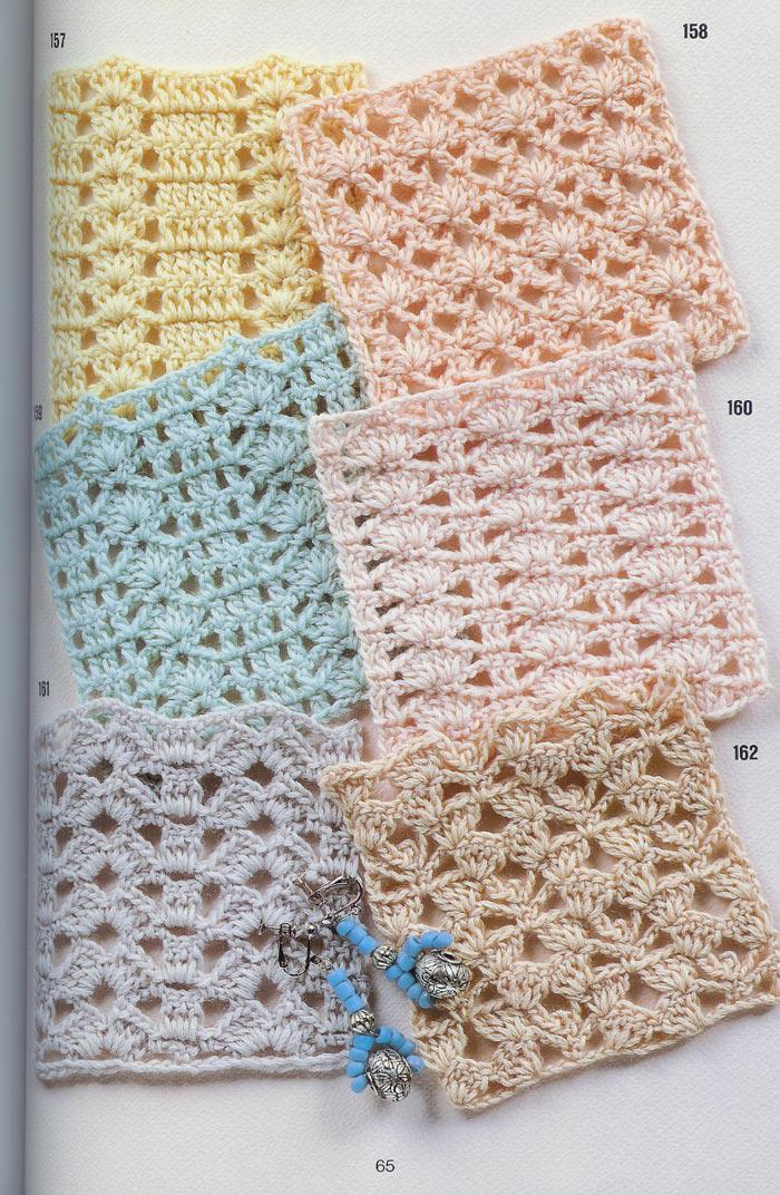 262 patrones gratis de puntos crochet | Todo crochet