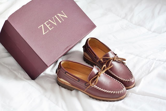 LOCAL BRAND: ZEVIN BOAT BILL SHOES