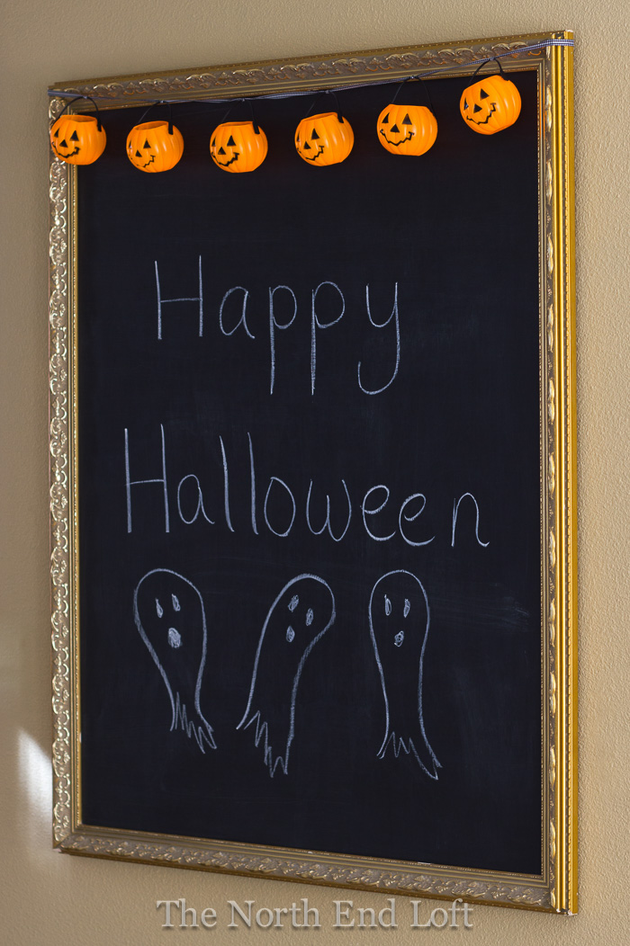 Glowing Halloween Banner from North End Loft  | Halloween Favorites at www.andersonandgrant.com