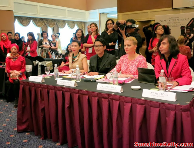 Avon makeup artist search 2013, avon, the ultimate makeup artist, pesona batik, makeup, nasha aziz, zulfazli suhadi, panel judges