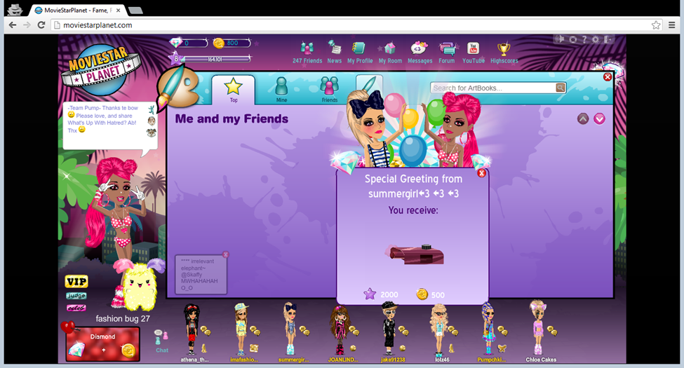 MovieStarPlanet – Not just Child's Play – What every parent should know.