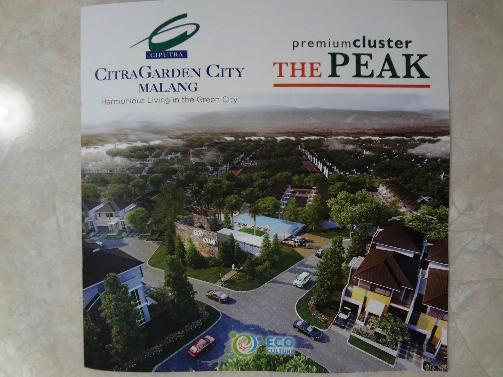 Citra Garden City Malang Brosur The Peak