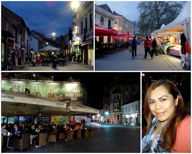 Tuzla Old Town Scenes, Bosnia & Herzegovina