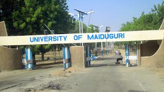 University of Maiduguri witness a crashed suicide bomber