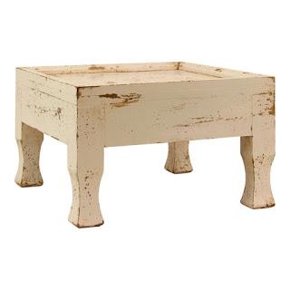 Kleiner Holztisch weiss