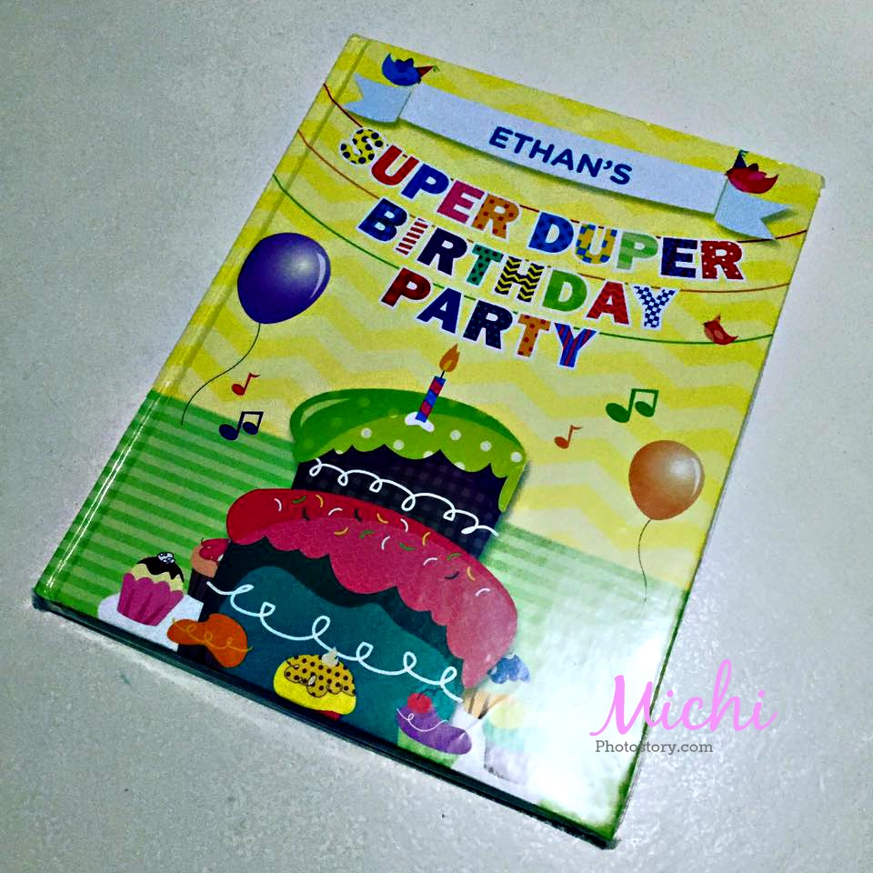 Michi Photostory: Super Duper Birthday Party Book
