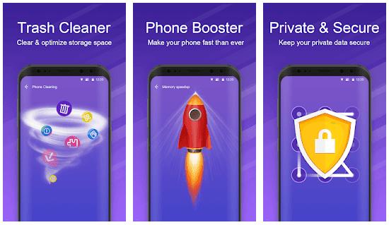 aplikasi pembersih memori terbaik Nox Cleaner