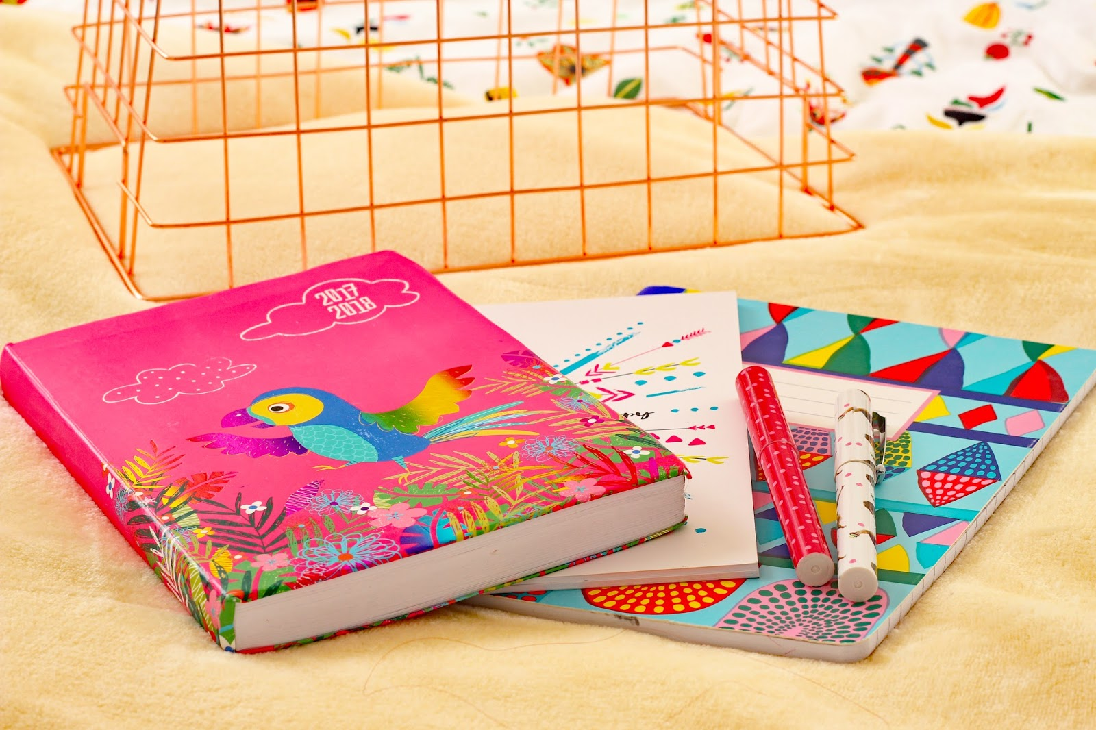 My 2018 Goals notebooks blogger lifestyle new year