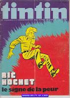 RIC HOCHET le signe de la peur