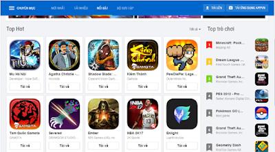 Tải Appvn 5.0 miễn phí về máy điện thoại Android 4