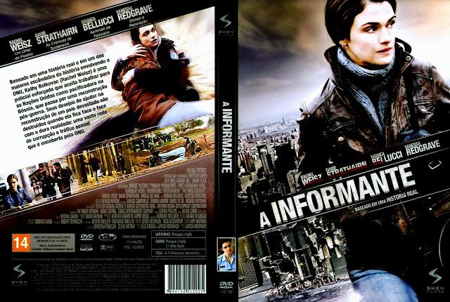 Capa DVD A Informante
