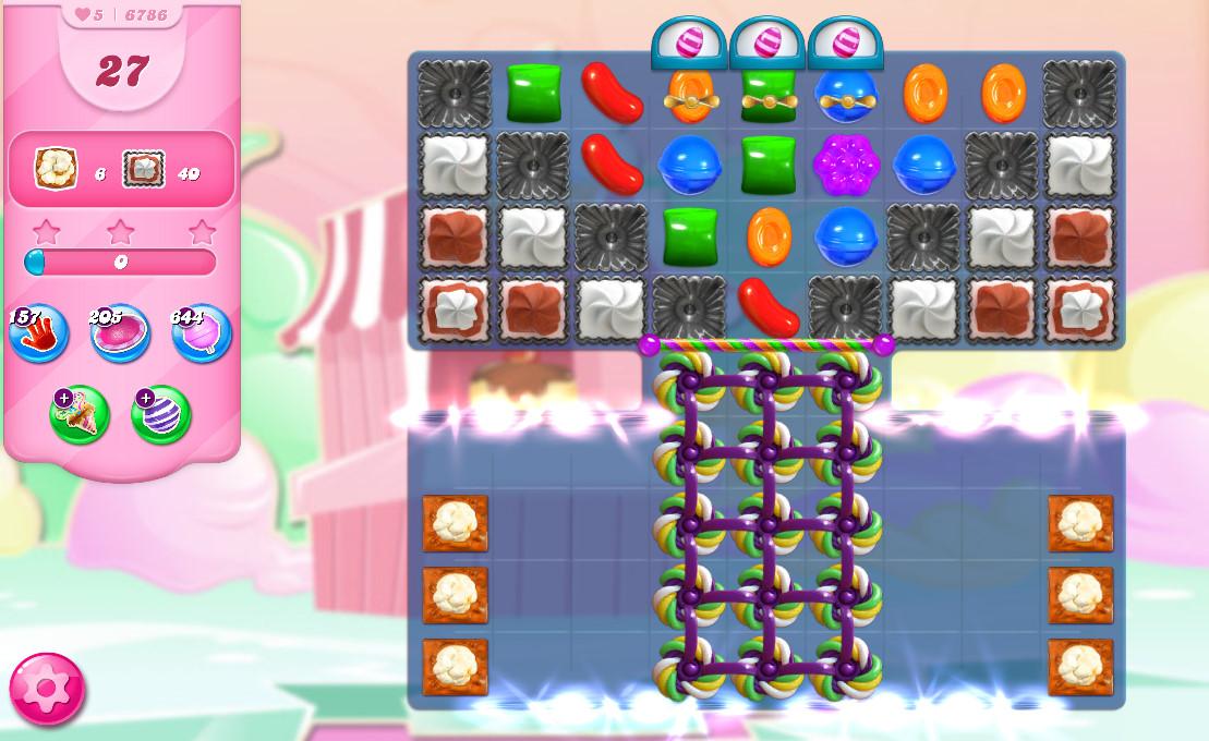 Candy Crush Saga level 6786