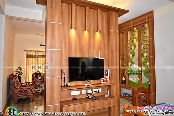 TV Unit room finished in Kerala