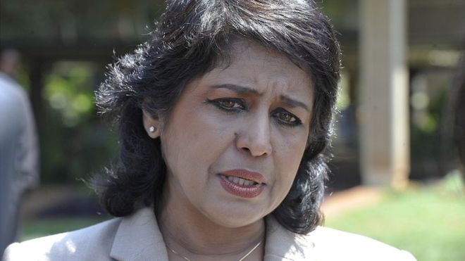 Mauritius President Ameenah Gurib-Fakim resigns following Financial Scandal
