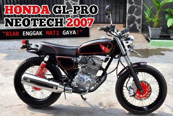 Modifikasi Honda GL Max