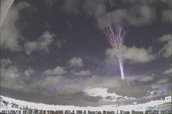Fenômeno raríssimo e nunca registrado no Brasil é visto no céu de CG; veja vídeo