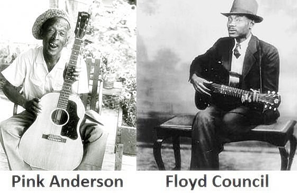 Pink Anderson e Floyd Council
