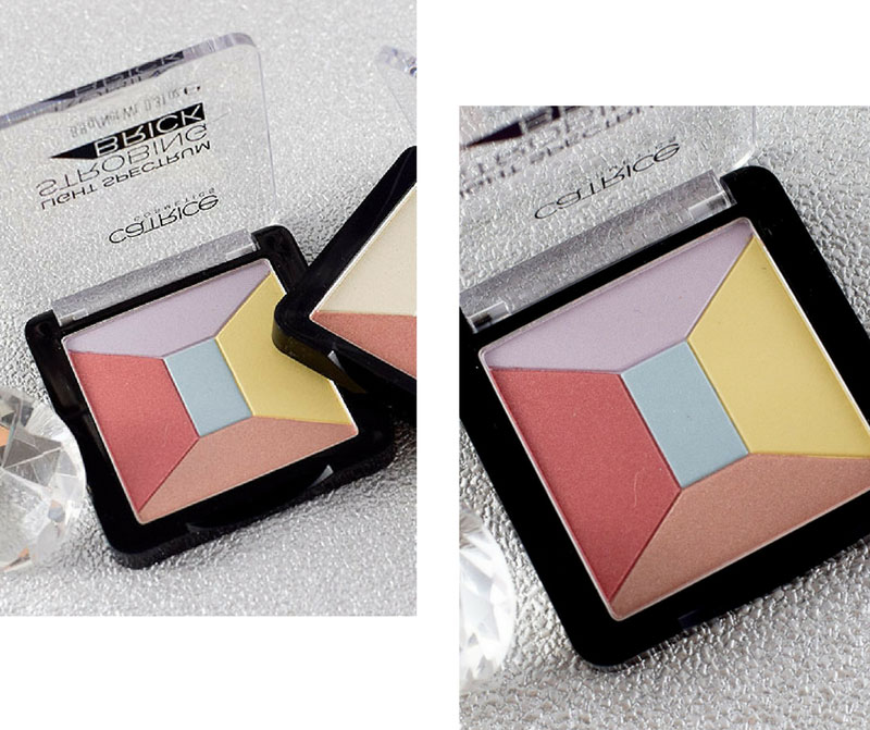 Catrice Light Spectrum Strobing Brick, Catrice Neues Sortiment Frühjahr Sommer 2018, Review, Swatch