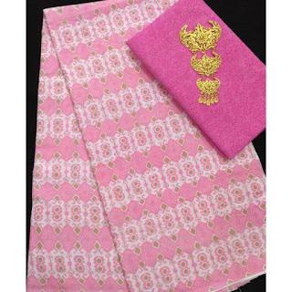 Kain Batik dan Embos 582 Pink