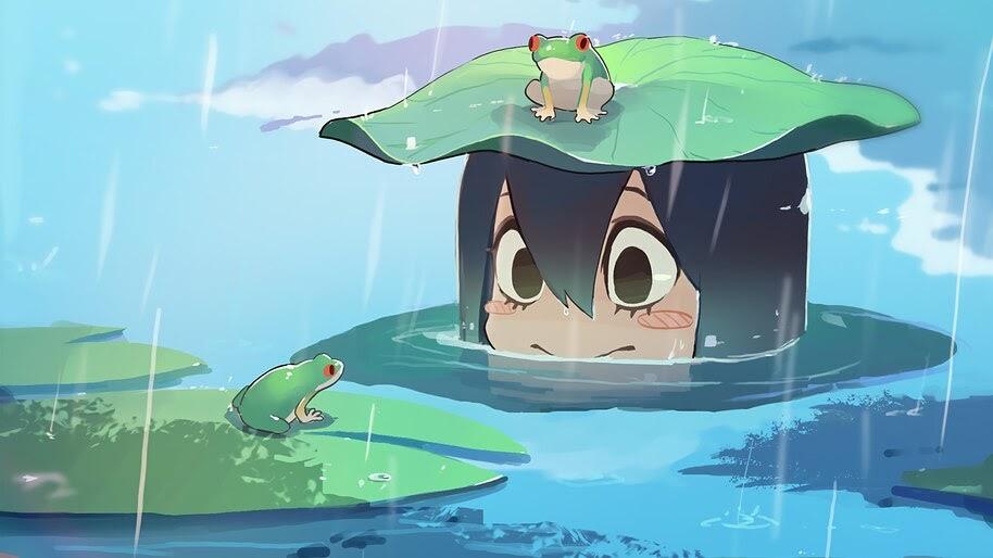 Tsuyu Asui Frogs 4k Wallpaper 5398