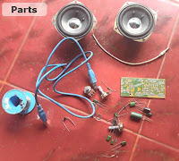 USB power amplifier parts you need