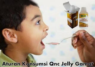 Aturan Konsumsi Qnc Jelly Gamat