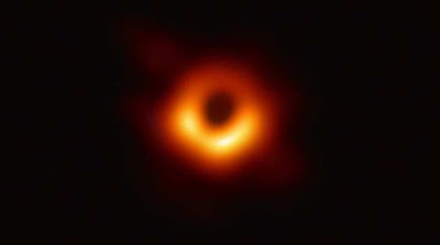 First Ever Image of Black Hole