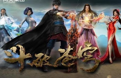 Doupo Cangqiong Episódio 9