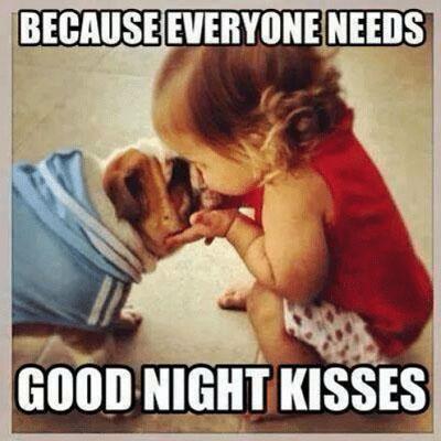 Funny Good Night Kisses