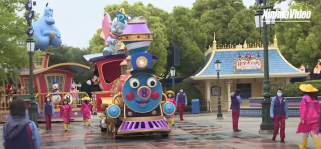 Shanghai Disneyland reopen, 上海迪士尼樂園 重開