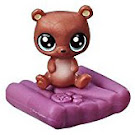 Littlest Pet Shop Series 2 Large Playset Urso Brownbear (#2-106) Pet
